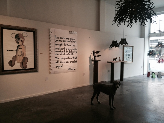 This Week: Michael Scoggins Pop Up Show with Cathy McClure in Seattle