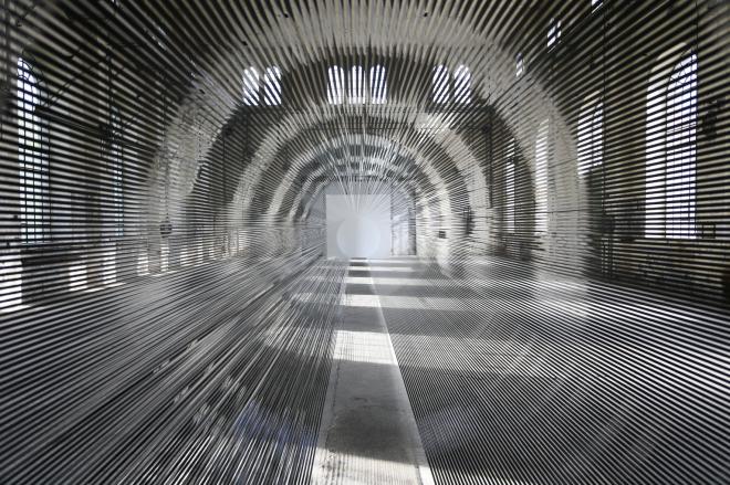 Zilvinas Kempinas: Tube at the Kunstraum Dornbirn in Austria