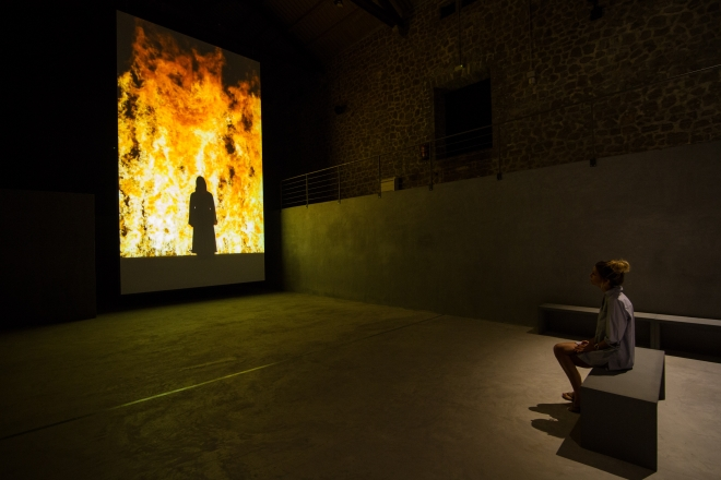 Collector Lio Malca exhibits two video works by Bill Viola in Ibiza