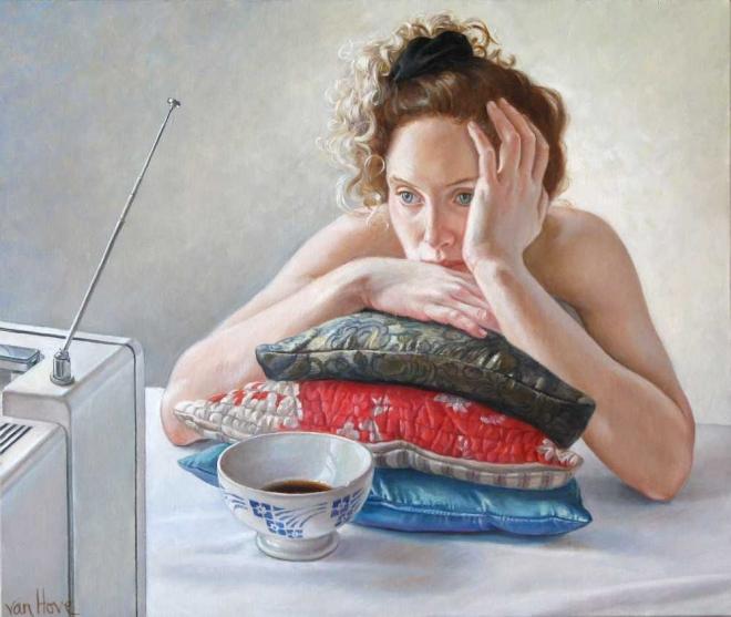 Francine Van Hove Fascinée painting peinture