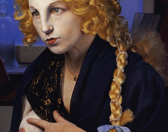 Cindy Sherman and David Salle
