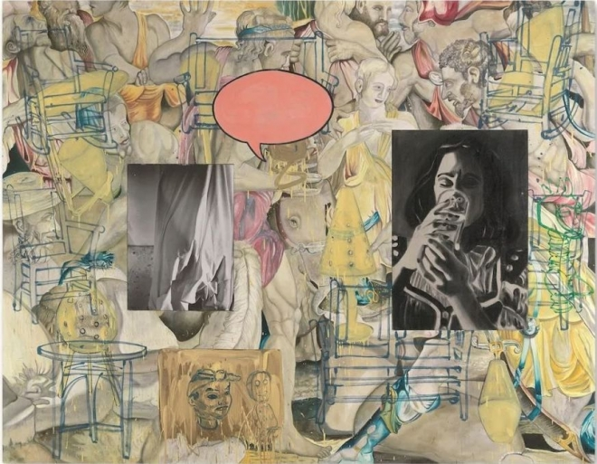 David Salle: Paintings 1985-1995
