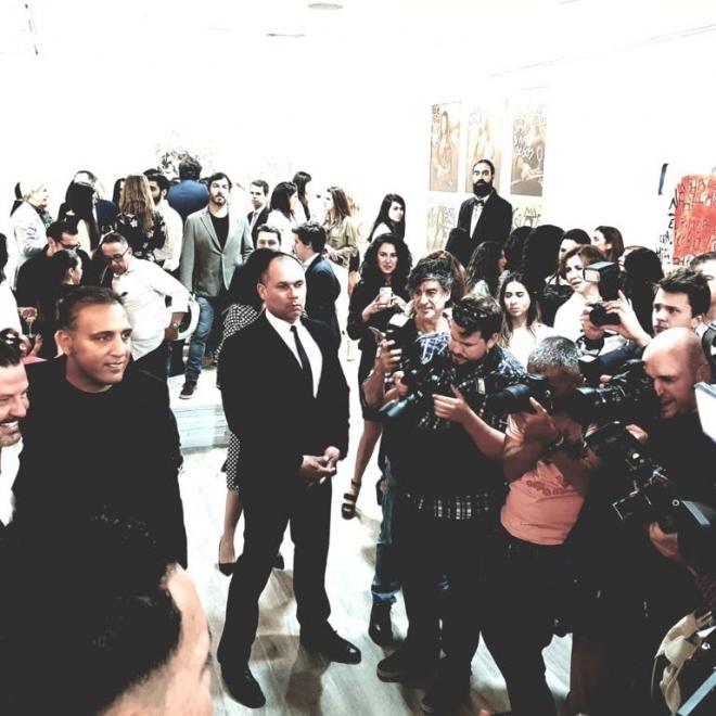 Madrid inauguration at Hg Contemporary