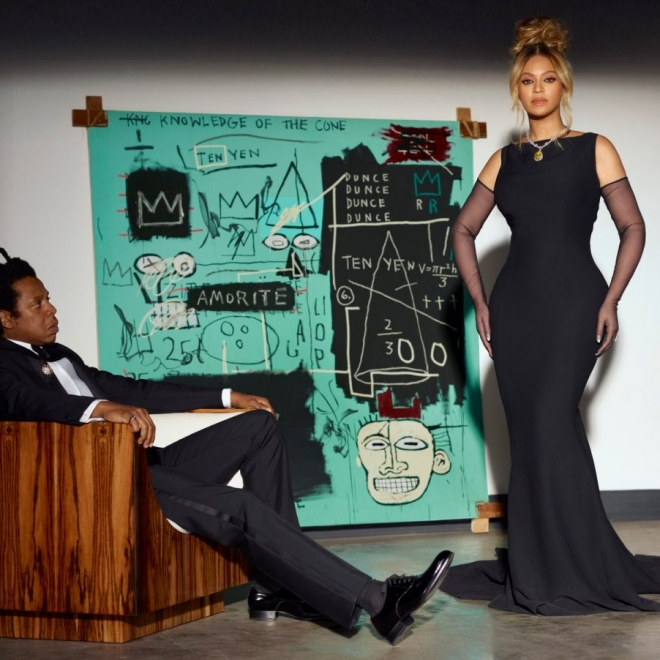 ARTNEWS | Beyoncé and Jay-Z Pose with Long-Unseen Basquiat in Tiffany Campaign
