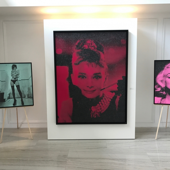 Toronto Guardian: Celebrity Photographer Russell Young at Taglialatella Galleries in Yorkville, Toronto