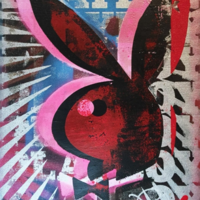 Burton Morris: Inside Opening Night at 'Painting Playboy,' Burton Morris' Colorful Ode to the Rabbit