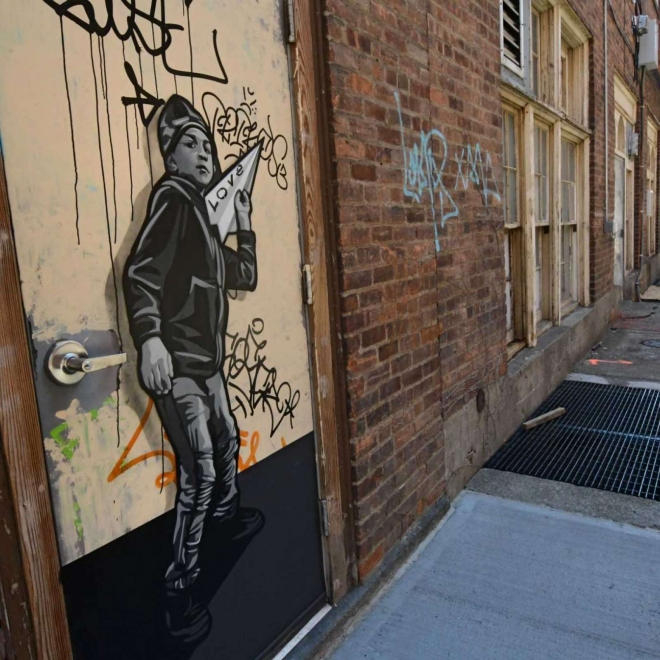 Times Union | Joe Iurato at Troy's Franklin Alley, New York