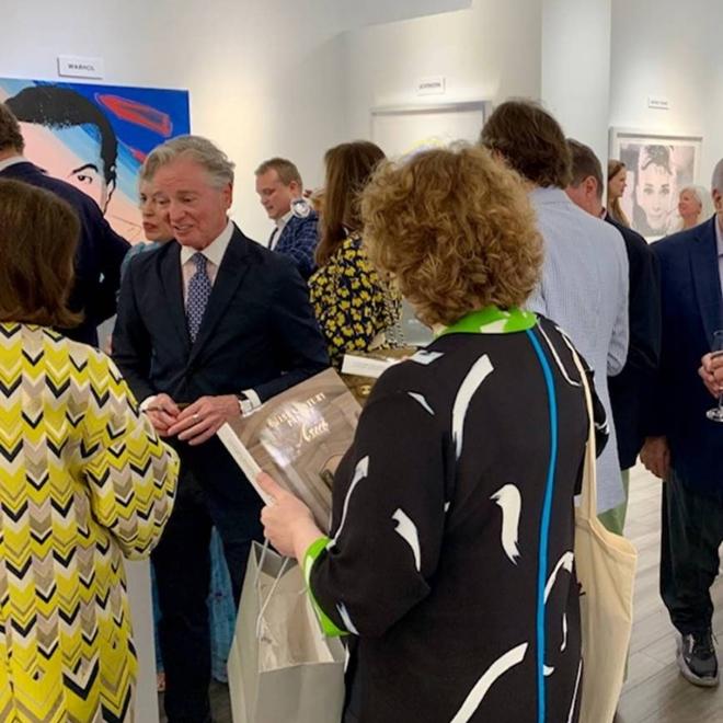 "Taglialatella Galleries Palm Beach Hosts Reception in Honor of Geoffrey Bradfield's ""A 21st Century Palace: Asia"""