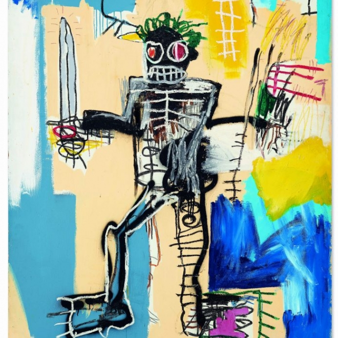 ArtNet | Basquiat Poised to Become Most Expensive Western Work Auctioned in Asia