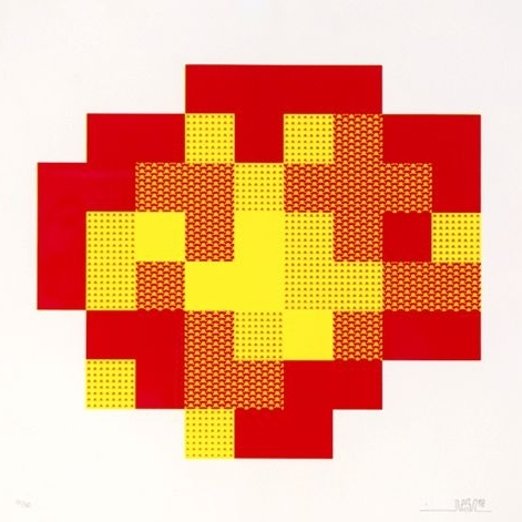 """GAME ON! The Art of Invader"" at Taglialatella Galleries"