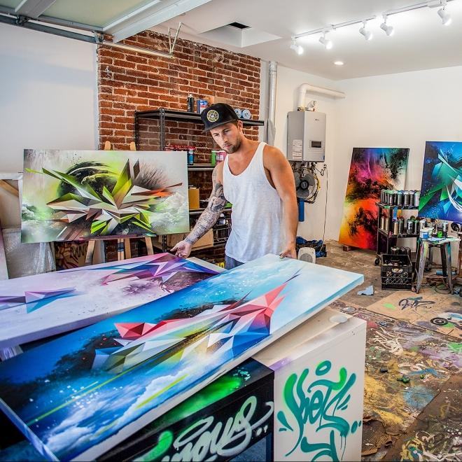 Mikael B: The Newest Artist at Taglialatella Galleries