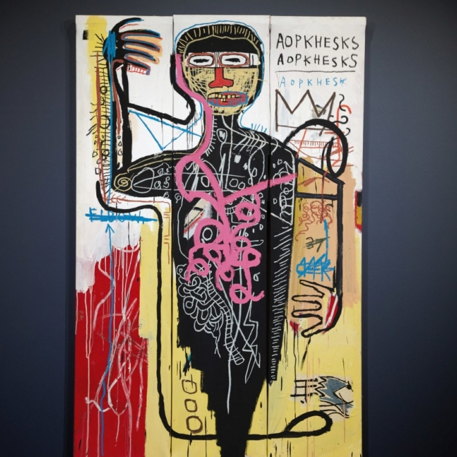 ARTNET |  Basquiat Painting Could Become One of the Priciest Works by artist Ever at Sotheby's Auction