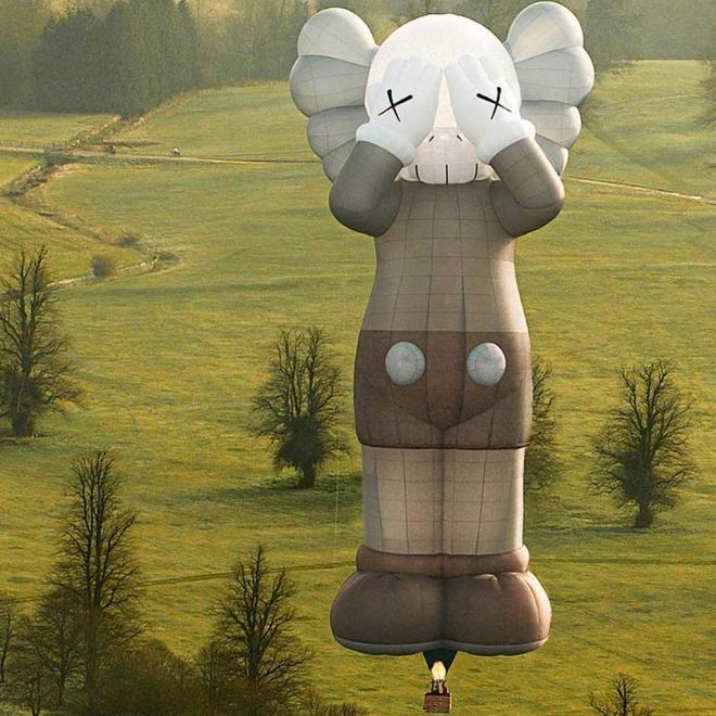 CNN | Gigantic KAWS hot air balloon to take flight over major world cities