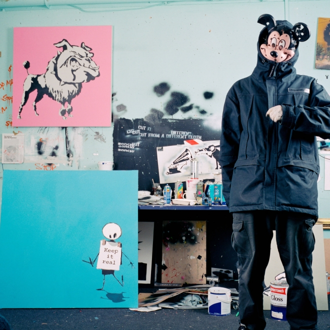New York Times: Banksy Is a Control Freak. But He Can't Control His Legacy.