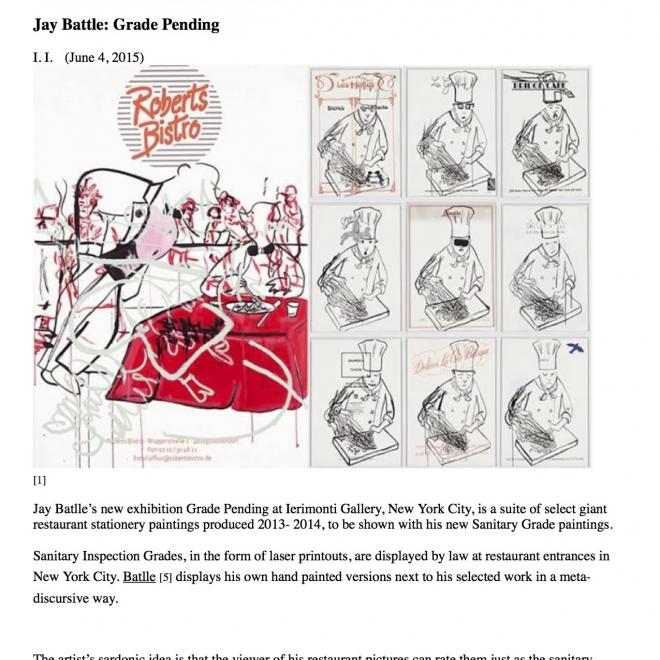Jay Batlle: Grade Pending