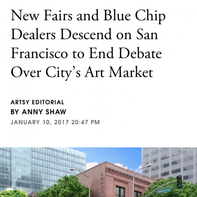 New Fairs and Blue Chip Dealers Descend on San Francisco to End Debate Over City's Art Market