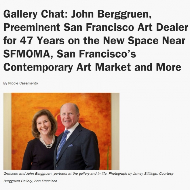 Gallery Chat with John Berggruen