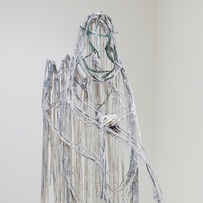 Diana Al-Hadid | As the Fog settled over SF