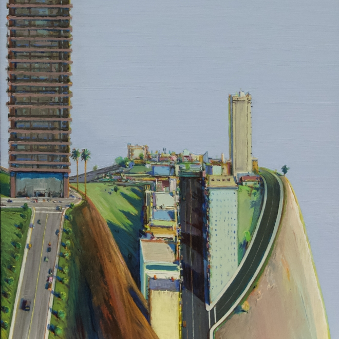 "Wayne Thiebaud | ""Wayne Thiebaud saw the streets of San Francisco like no one else"""