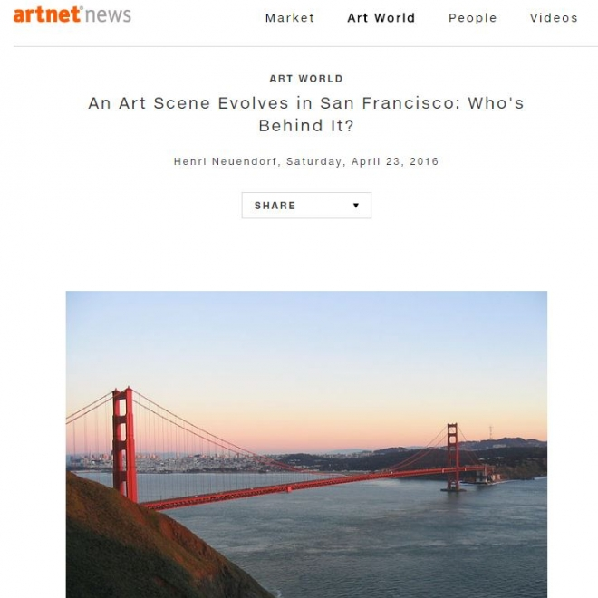 An Art Scene Evolves in San Francisco Who's Behind It?