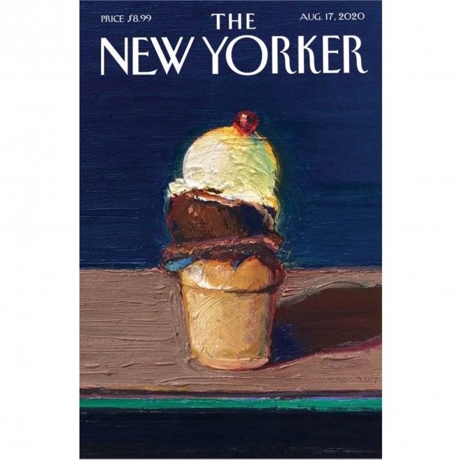 "Wayne Thiebaud's ""Double Scoop"" 