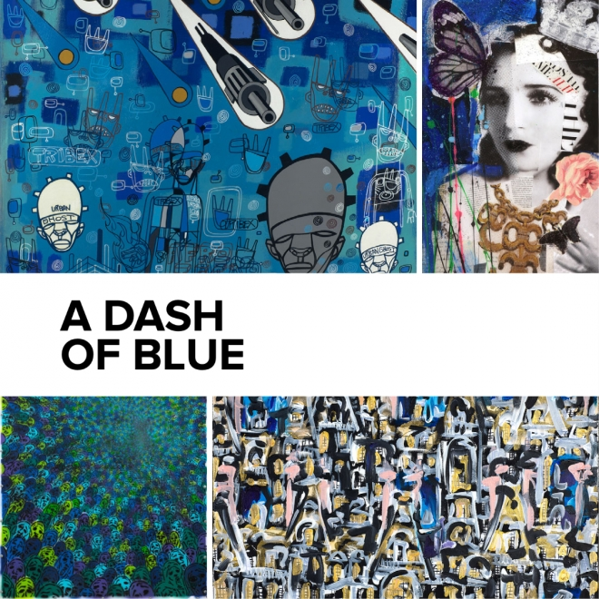 A Dash of Blue   An Artsy Exclusive