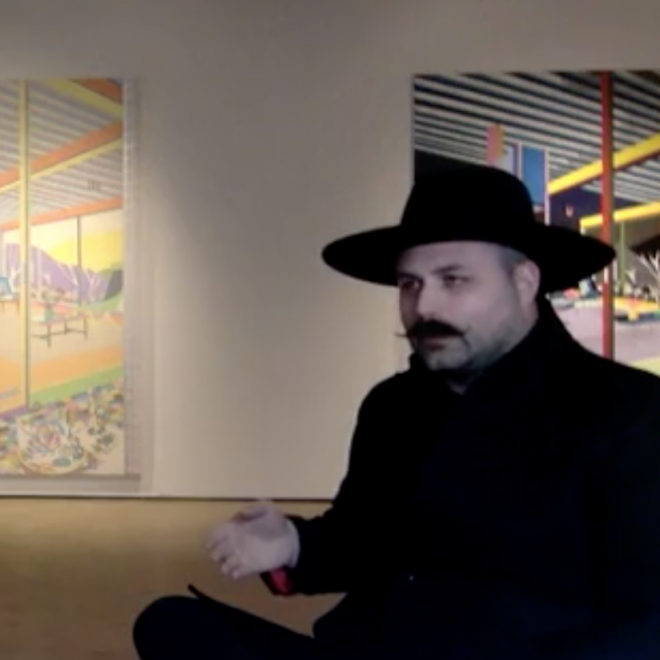 Artist Talk with Michael Callas