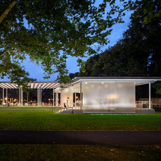 SCHWARTZ PAVILION GARNERS MORE RECOGNITION