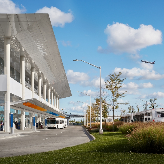PUBLIC ART AT O'HARE INTERNATIONAL AIRPORT