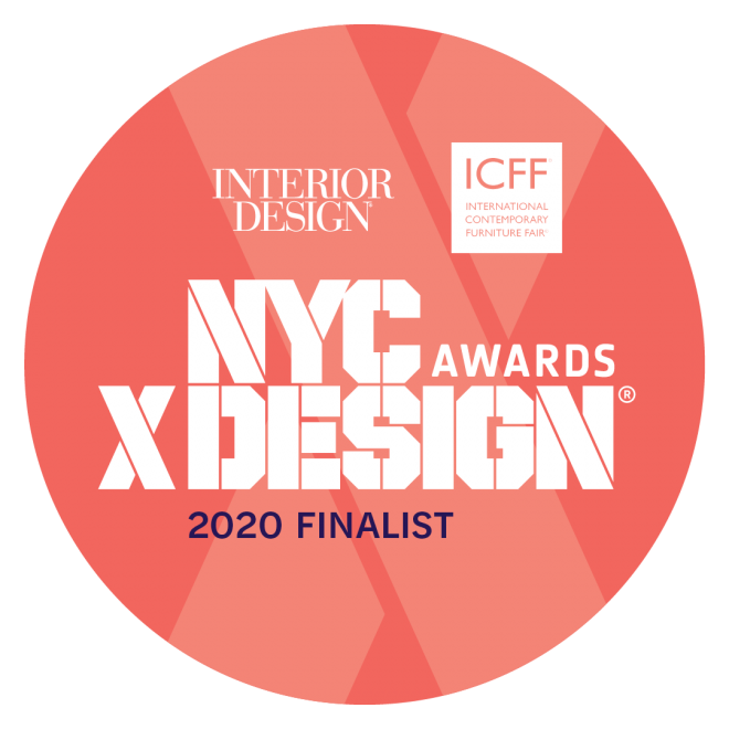 FINALIST FOR NYCxDESIGN AWARDS