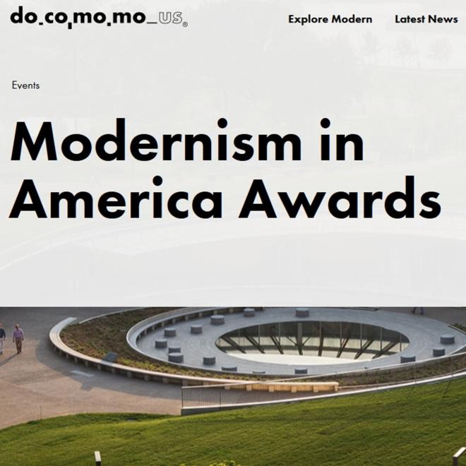 MODERNISM IN AMERICA AWARDS