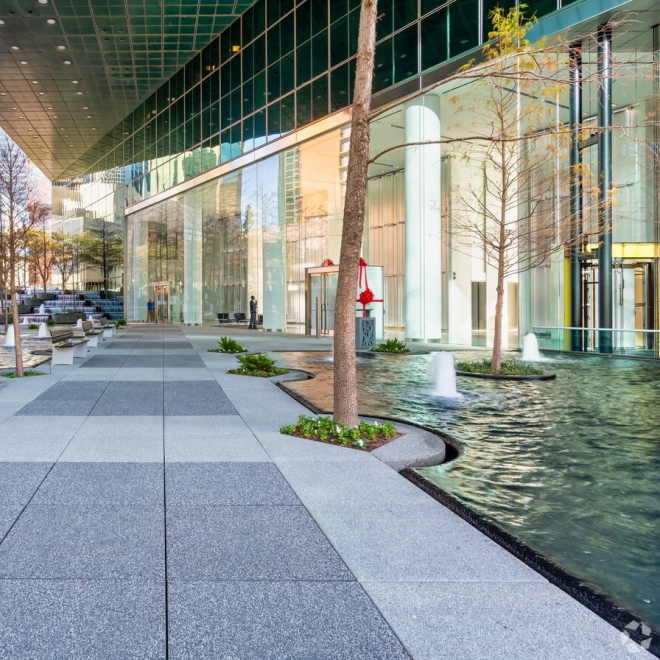 FOUNTAIN PLACE LOBBY RENEWAL COMPLETE