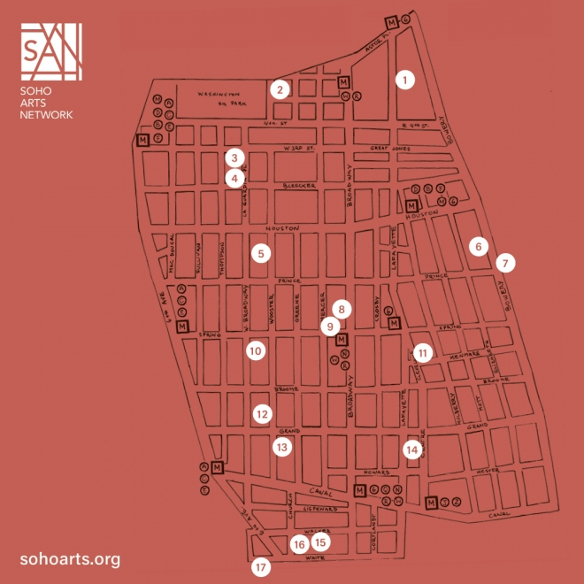 SAN's Downtown Culture Walk