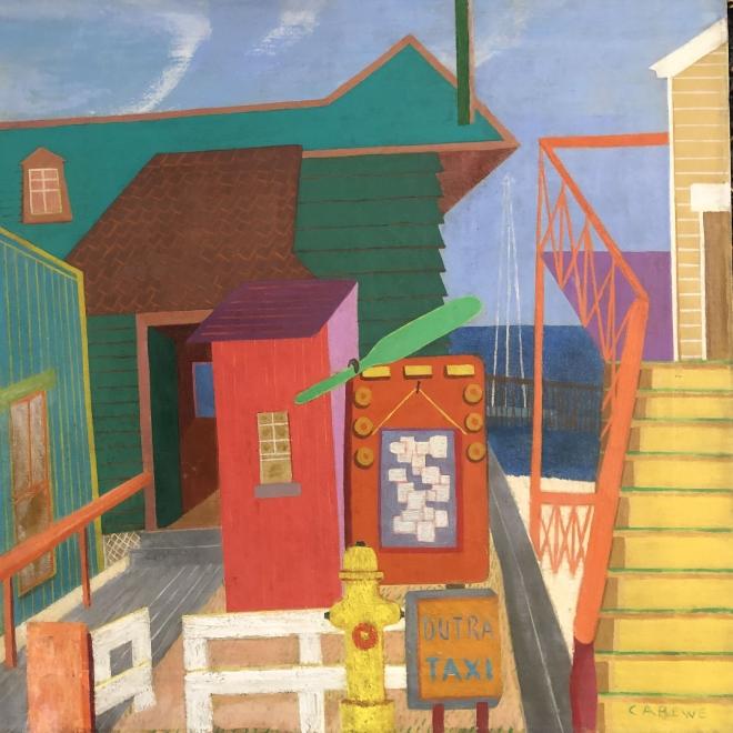 Sylvia Carewe Painting Returns to Foundation