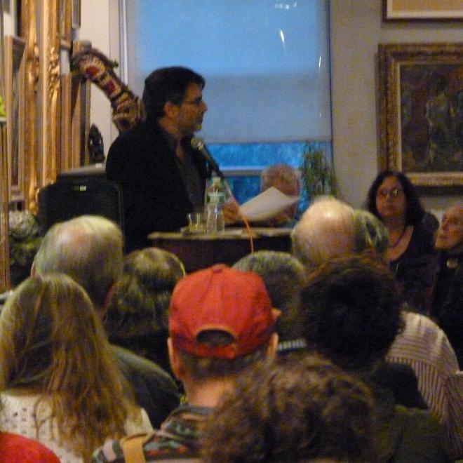 U Penn Professor Al Filreis Hosts NYC ModPo Meet-Up at Foundation