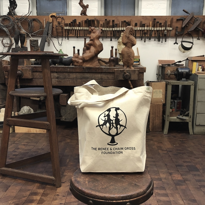 Get a foundation tote bag with a donation of $75 or more