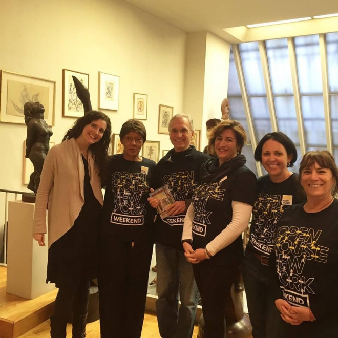 Foundation Welcomes over 600 visitors for 2015 Open House New York Weekend