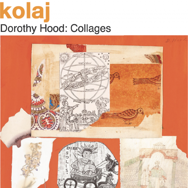"""Dorothy Hood: Collages"" in kolaj Magazine"