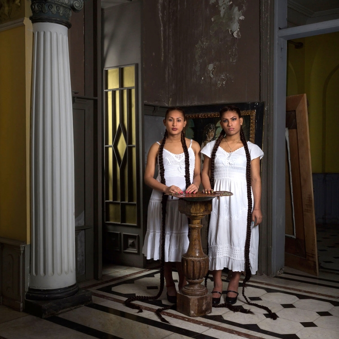"""Trans Women of Peru Celebrated in """"Canon"""" Exhibit at McClain Gallery"""