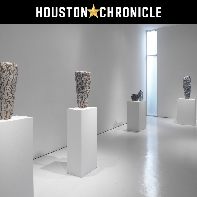 """""""Art review: Ceramics and abstracts with Fiona Waterstreet and Dorothy Hood at McClain Gallery"""" in Houston Chronicle"""