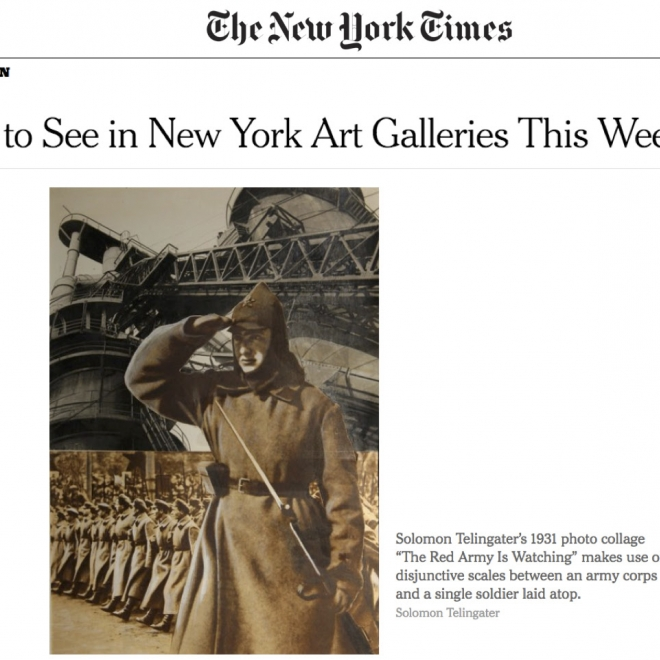 New York Times Publishes Review of Nailya Alexander's Russian Photography After the Revolution