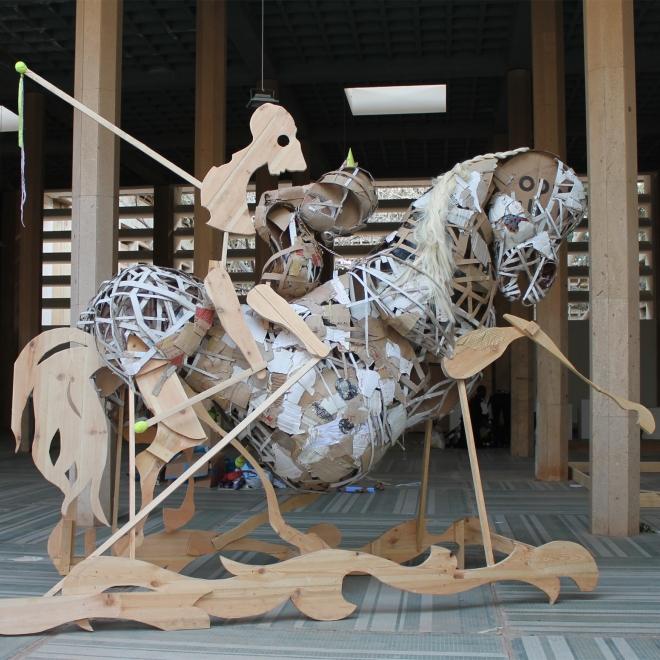 Lavar Munroe Participation in the Dak'Art Biennale