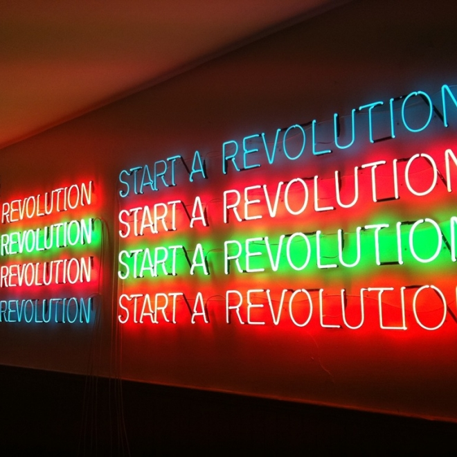 Tim Etchells Exhibiting at The Museums Sheffield: Millenium Gallery