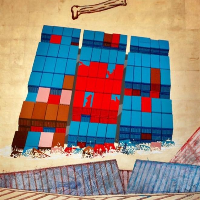 Dewey Crumpler's 'Crossing' to Open at Richmond Art Center