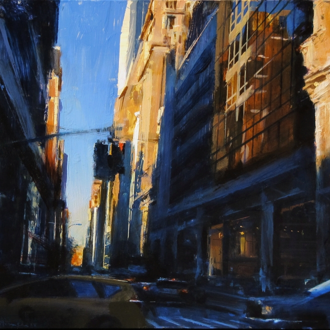"ArtDaily Reviews Ben Aronson's ""Distilled Realities"" Solo Exhibition"