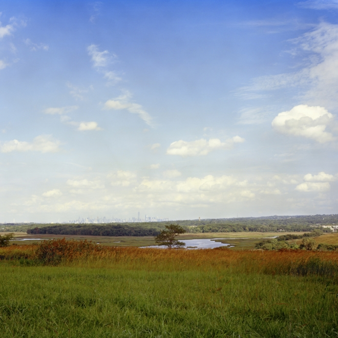 Jade Doskow is an artistic partner in photography of Freshkills Park in NYC