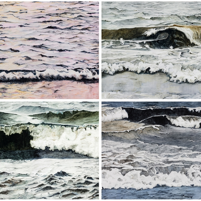Our current exhibition, Karen Owsley Nease - Elemental Forces and Related Work
