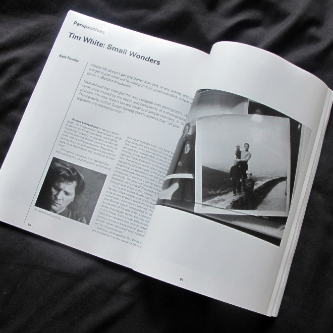 November 9, 2019: Tim White featured in December 2019 issue of Black & White magazine
