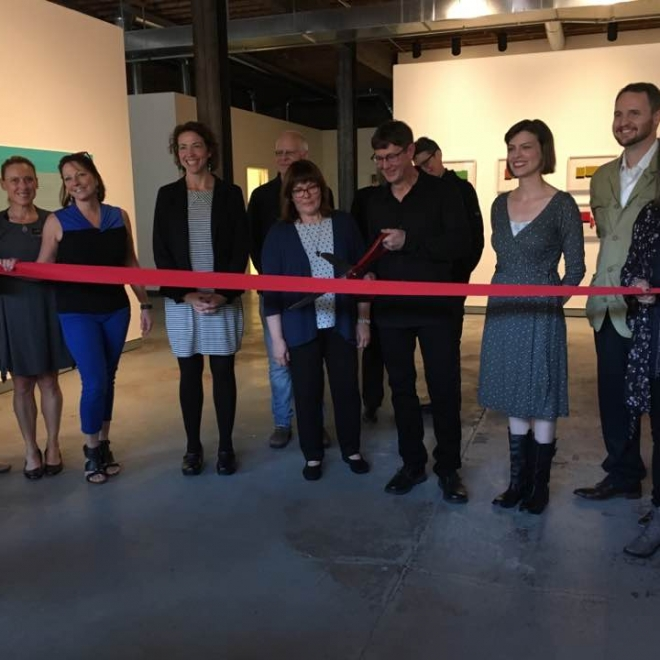 October 18, 2017: Ribbon cutting!