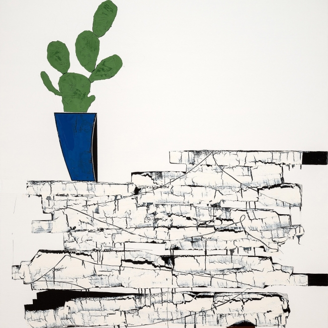 """March 21, 2018: James Brinsfield in """"Anxious Abstraction"""""""